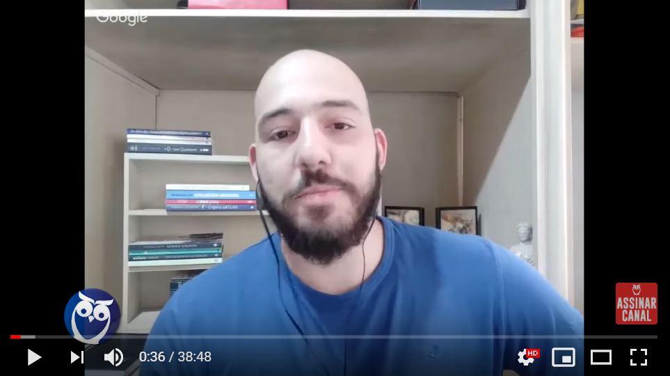 ENTREVISTA EM VÍDEO: Lucas Loureiro - Aprovado no concurso PCPR no cargo de Escrivão de Polícia