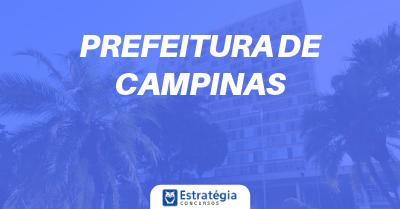 Concurso Prefeitura de Campinas: divulgados gabaritos das provas objetivas