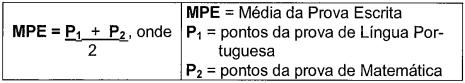 média prova escrita concurso Guarda Municipal Campo Grande
