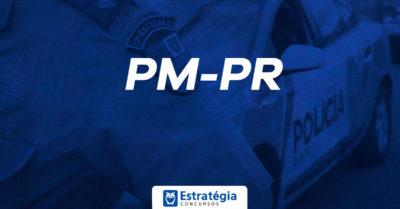 Concurso PM PR: autorizado! 2.400 vagas para Soldado