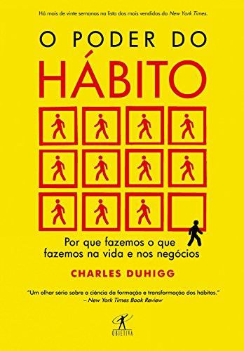 """Livro """"O poder do hábito"""" de Charles Duhigg."""