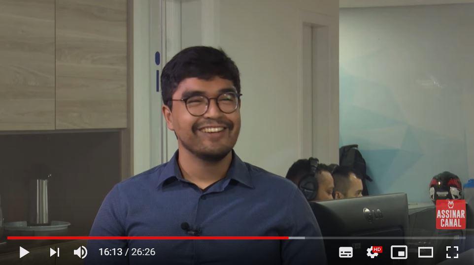 ENTREVISTA EM VÍDEO: Rafael Incaua - Aprovado no concurso BRB no cargo de Escriturário