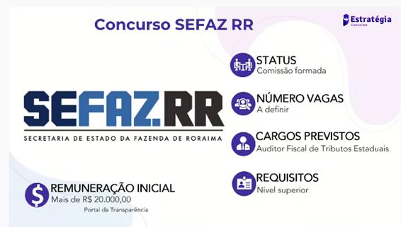 Concurso SEFAZ RR