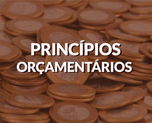 Principais Princípios Orçamentários