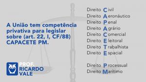 mnemônicos para Direito Constitucional