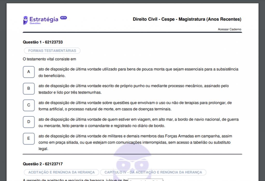 Arquivo de impressão em PDF