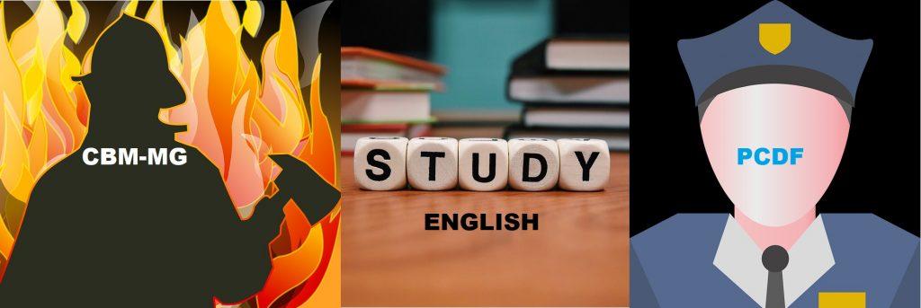 Estude Inglês para os concursos da PCDF e do CBM-MG