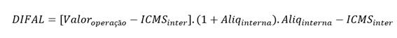 diferencial de alíquotas ICMS PR