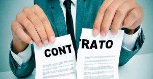Hipóteses de Rescisão de Contratos Administrativos