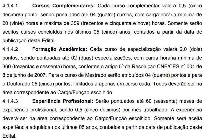 Análise Curricular - PSS Cabo Frio