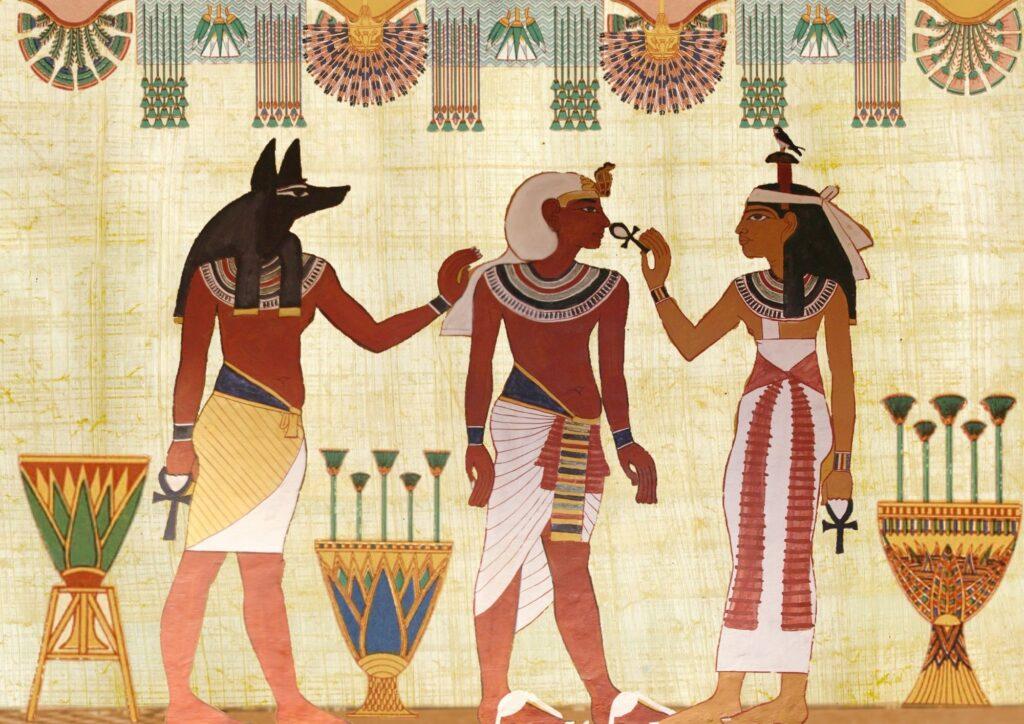 Os egípcios também cobravam impostos, sendo que os escribas eram temidos por sua função