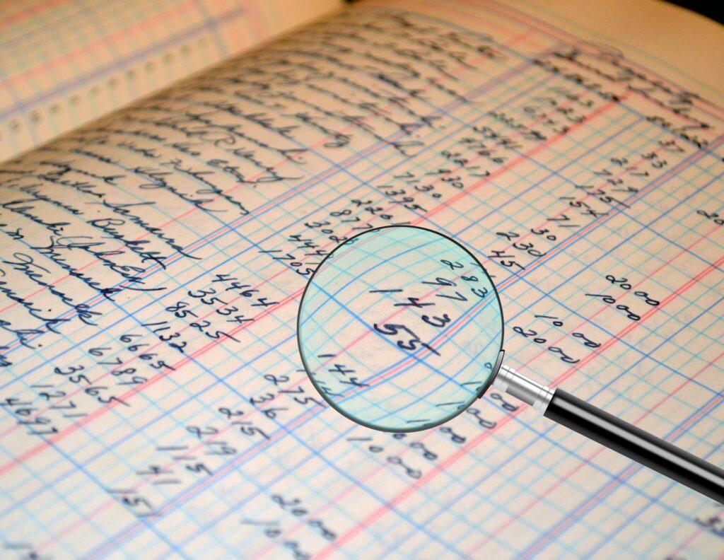A auditoria exige um grau maior de detalhamento sobre os registros do contribuinte